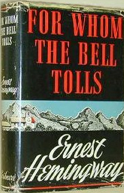 an analysis of roberts mission in for whom the bell tolls by ernest hemingway Learn term:hemingway = for whom the bell tolls author with free interactive flashcards choose from 35 different sets of term:hemingway = for whom the bell tolls author flashcards on quizlet.