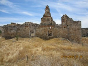 On December 5th, 1937 James Neugass arrived in Spain and the Village of Saelices. There he saw these old Moorish ruins called El Castillejo (Pictured). Just down the road he arrived at the American Hospital in Villa Paz where he would wait in frustration to go into action.
