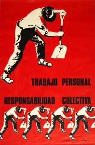 political posters from chile on show at el taller latino