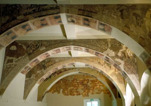 The disputed frescos, courtesy of MNAC