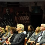 The audience in the Orozco room. Photo Len Tsou.