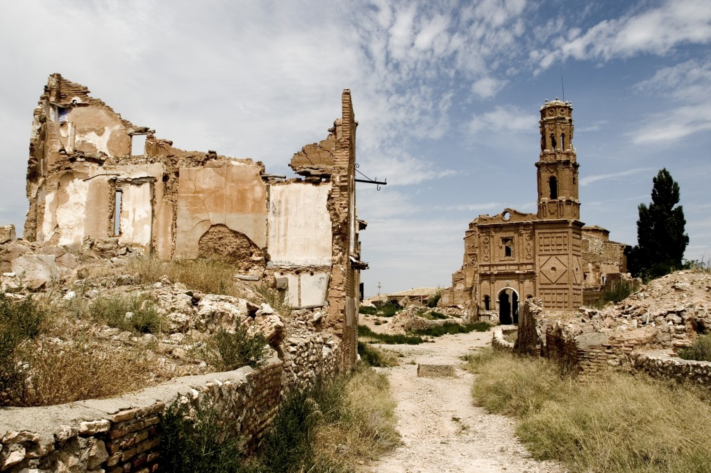 Belchite. Photo Kurtxio. CC-BY 2.0