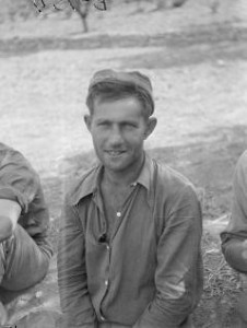 Archie Brown, Commissar, Company 1, Lincoln-Washington, September 1938. The 15th International Brigade Photographic Unit Photograph Collection; ALBA Photo 11; ALBA Photo number 11-0251.