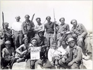 Lincoln Battalion, Maritime Workers, Spring 1937, ALBA/VALB.