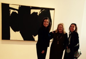 Josie Nelson Yurek, Nancy Wallach, Marina Garde at the Gallery.