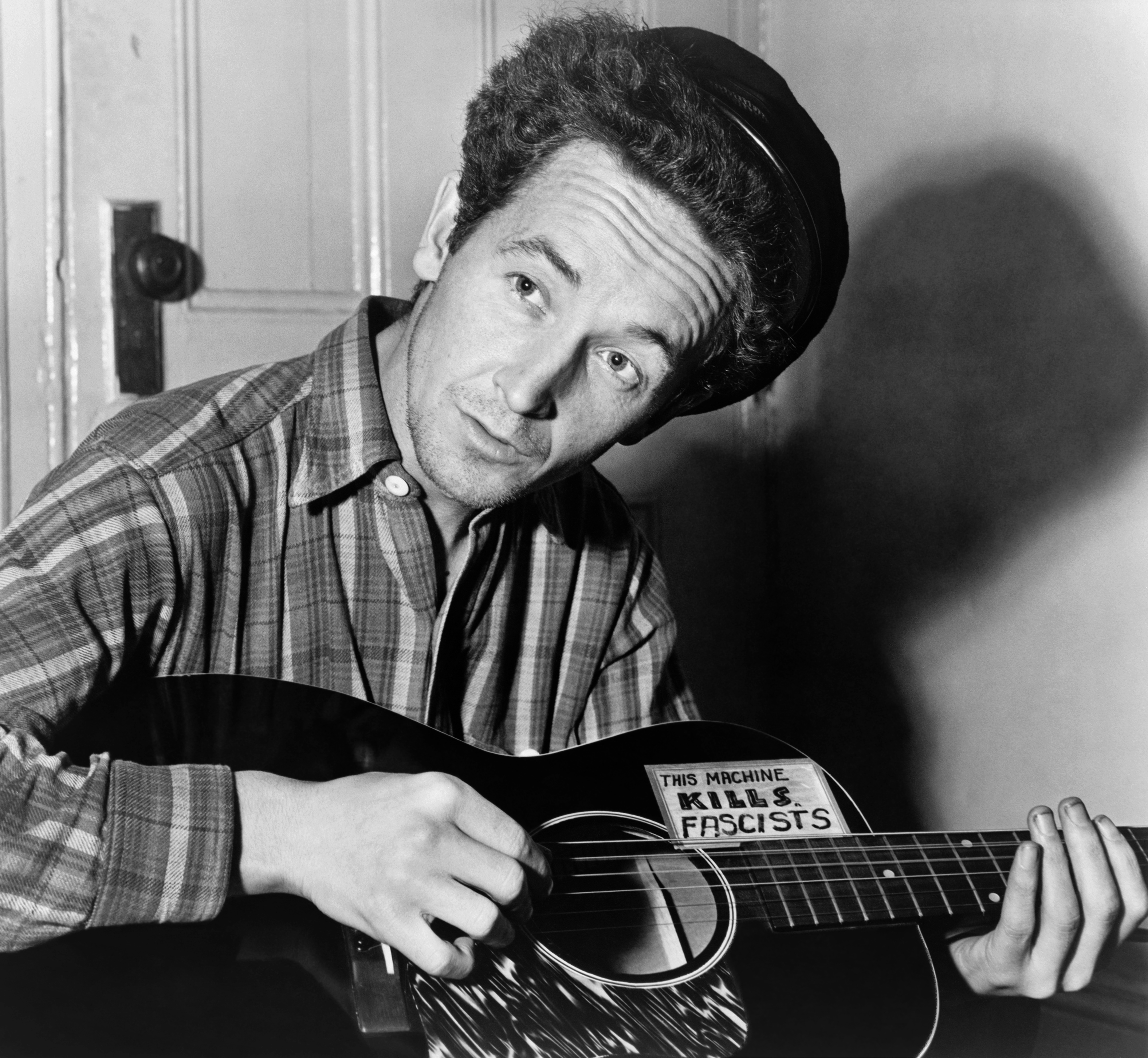 Woody Guthrie, March 1943. Library of Congress Prints and Photographs, cph.3c30859.