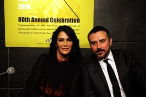 Lydia Cacho and Jeremy Scahill