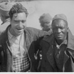 Setty and Mack Coad from Alabama, Darmos, April 1938, Harry Randall: Fifteenth International Brigade Films and Photographs; ALBA PHOTO 011; 11-034, Tamiment Library/Robert F. Wagner Labor Archives  Elmer Holmes Bobst Library  70 Washington Square South  New York, NY 10012, New York University Libraries.
