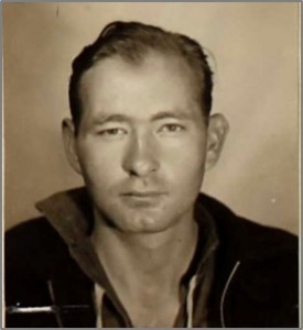 Earl Vail, Photograph from his seaman's certificate, 1935, Ancestry.com
