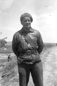 Frank Rogers, Commissar, Mackenzie-Papineau Battalion, May 1938. The 15th International Brigade Photographic Unit Photograph Collection; ALBA Photo 11; ALBA Photo number 11-0970. Tamiment Library/Robert F. Wagner Labor Archives. Elmer Holmes Bobst Library, 70 Washington Square South, New York, NY 10012, New York University Libraries.