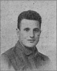 ANTONIS THEODOLLOL  Fighter in the first English-Speaking Company of December, 1936.