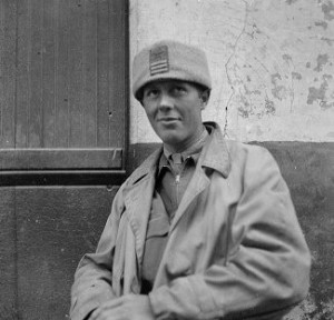 Captain Rollin Dart, Brigade Staff, December 1937; Harry Randall: Fifteenth International Brigade Films and Photographs; ALBA PHOTO 011; 0636;  Tamiment Library/Robert F. Wagner Labor Archives  Elmer Holmes Bobst Library  70 Washington Square South  New York, NY 10012, New York University Libraries.