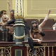 Pro-Choice protesters removed from Spanish Parliament