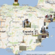 Interactive map of IB monuments across Spain
