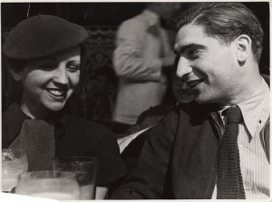 Robert Capa and Gerda Taro. Photo Fred Stein