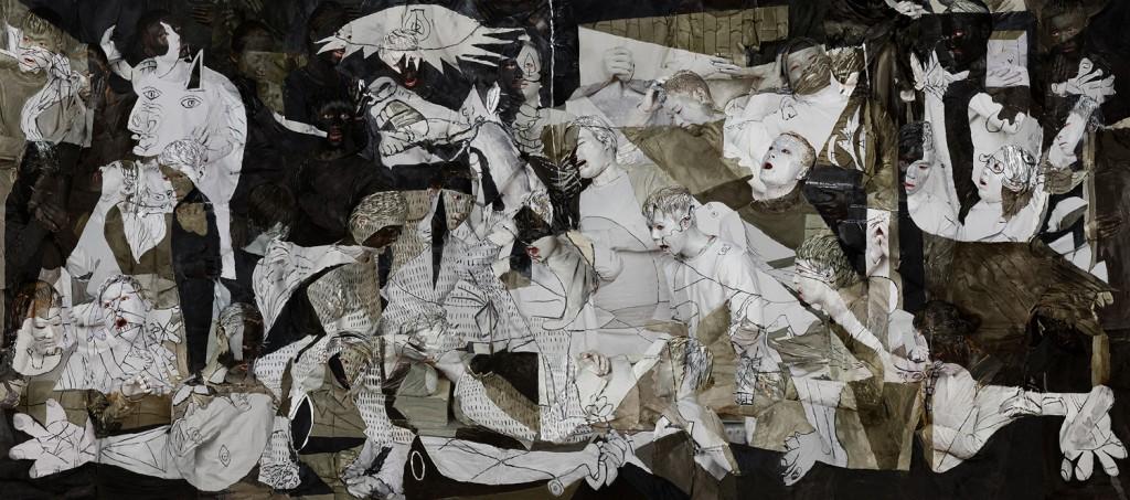 Liu_Bolin_Guernica_2016