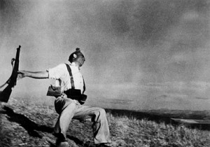 """Capa's """"Falling Soldier"""" Photograph"""