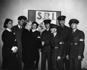 James Isadore Neugass, second from right