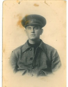 Bart in soldier's uniform. Date unknown. Courtesy of the Van der Schelling family.