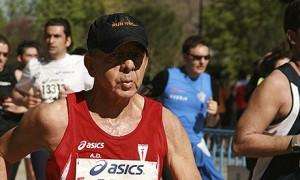 Antonio González Pacheco, seen in this 2010 picture running in a Madrid half-marathon