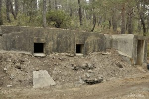 A Spanish Civil War bunker near Loma Quemada. Photo Sextante, es.wikiloc.com.