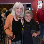 Freda Tanz, the wife of Al Tanz, and Ruth Maguire, sister of George Kaye and former wife of Bill Bailey.  Photo by