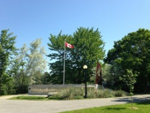 The Mac-Paps Memorial in Ottawa