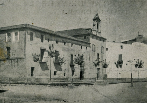 Prison of Vinaròs located in the former convent of San Francisco, where the three Lincolns entered on May 13, 1938. (CDGCE Vinaròs)