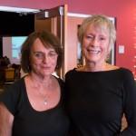 Yvonne Corbin (r) and friend. Photo Richard Bermack.