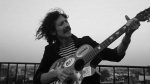 Eugene Hütz, frontman of the Gypsy punk band Gogol Bordello, featured in Let Fury Have the Hour