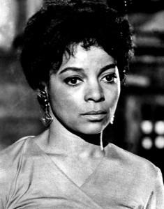 Ruby Dee in 1972.