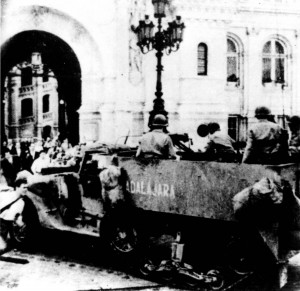 "The half-track ""Guadalajara"" in Paris, August '44."