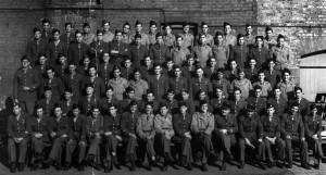 """""""La Nueve"""" in England, spring 1944."""