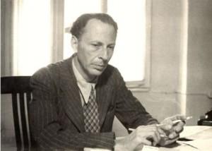 Dr. Alfred Kantorowicz, Berlin, June 1950. Photo Humboldt University.