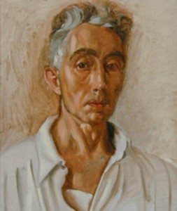 Pierre Daura, Self-Portrait in White