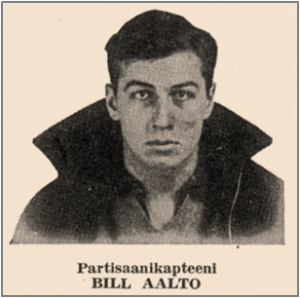 William Aalto. Photograph from K. E. Heikkinen, ed., Meidän Poikamme Espanjassa (Our Boys in Spain), Finnish Workers Federation, USA, Inc., 1939.