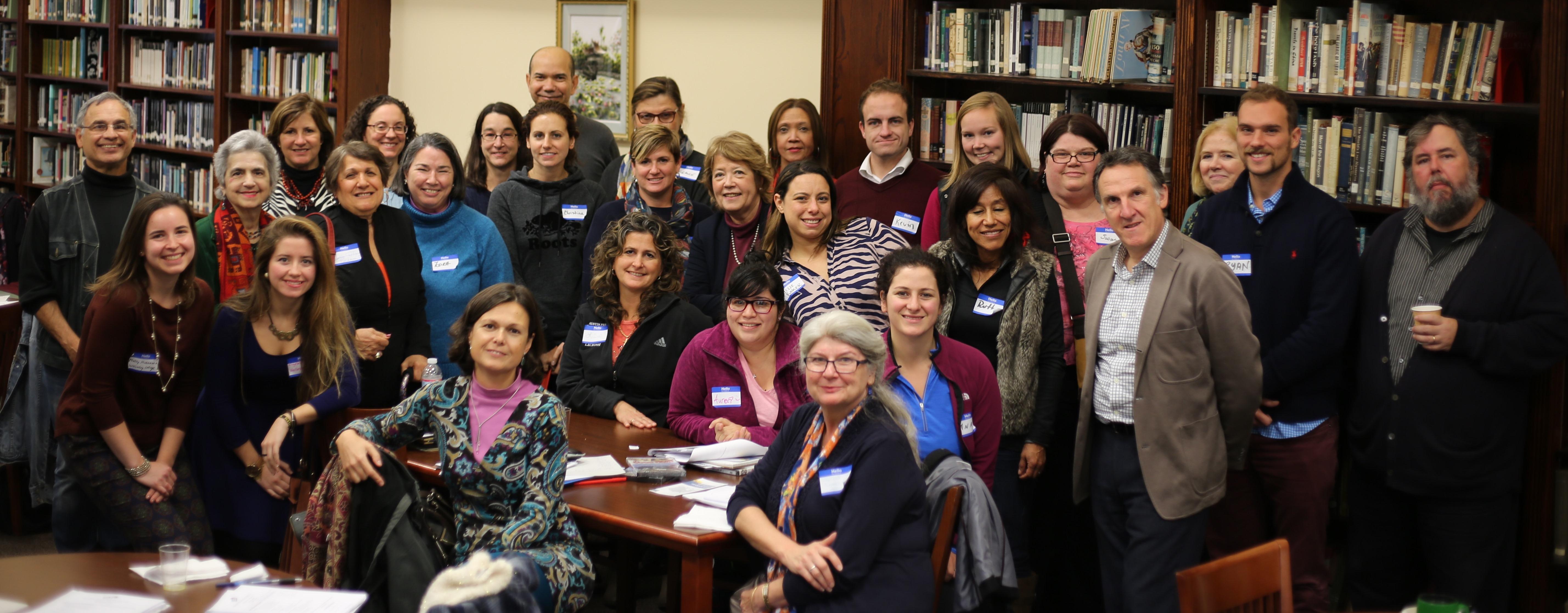 The AATSP Institute participants. Photo Andrés Fernández.