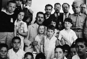 Mexican President Cárdenas with Spanish Refugee Children