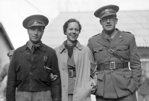 Dave Doran, Marian Merriman and Robert Hale Merriman. The 15th International Brigade Photographic Unit Photograph Collection; ALBA Photo 11; ALBA Photo number 11-1324.