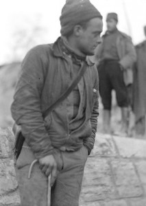 Saul Wellman, Political Commissar of the MacKenzie-Papineau Battalion, February 1938. The 15th International Brigade Photographic Unit Photograph Collection; ALBA Photo 11; ALBA Photo number 11-0952.