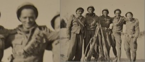 Seaman from Chile, Sterling Rochester, Artemo Luna, Juan Santiago, and Jack Shirai, Jarama 1937.