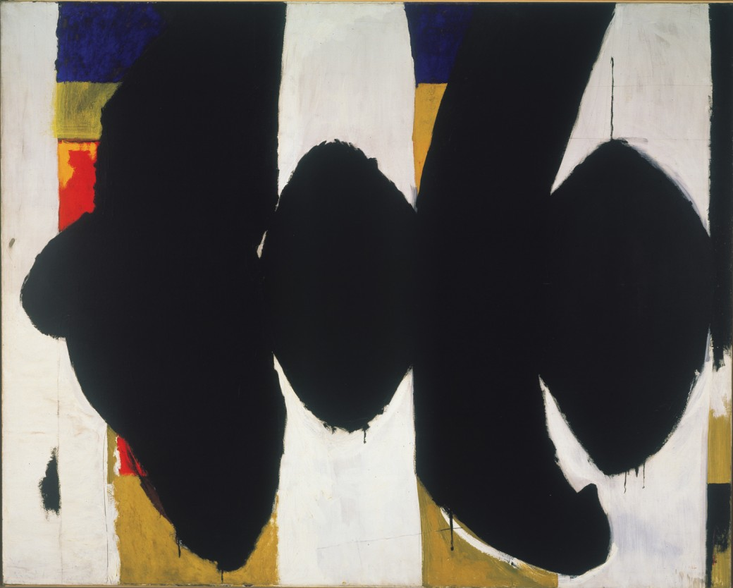 "Robert Motherwell, ""Elegy to the Spanish Republic XXXIV,"" 1953–54."