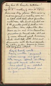 Merriman's Diary, January 23, 1937