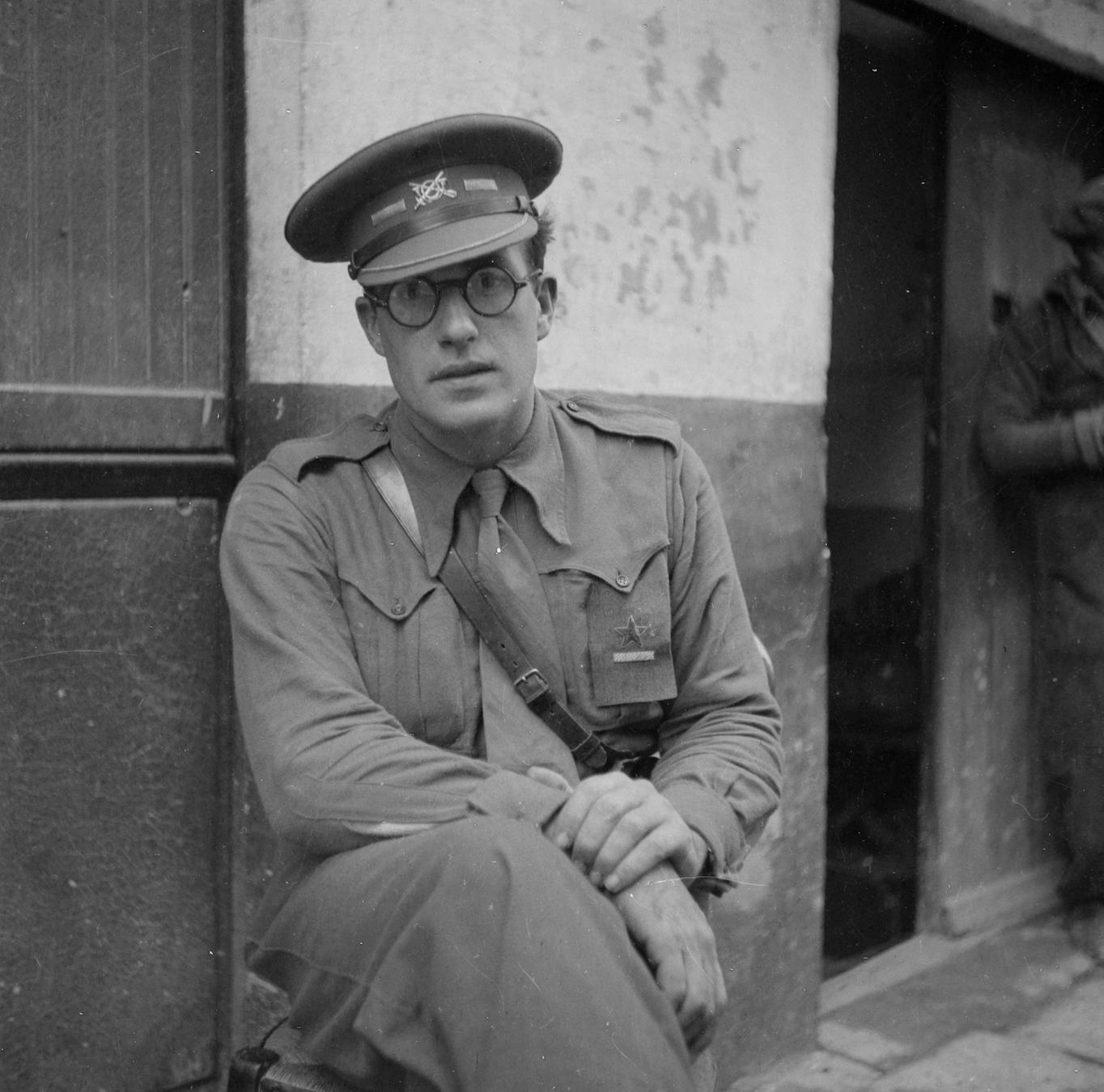 Robert Merriman, (Tamiment Library, NYU, 15th IB Photo Collection, Photo # 11-0634)