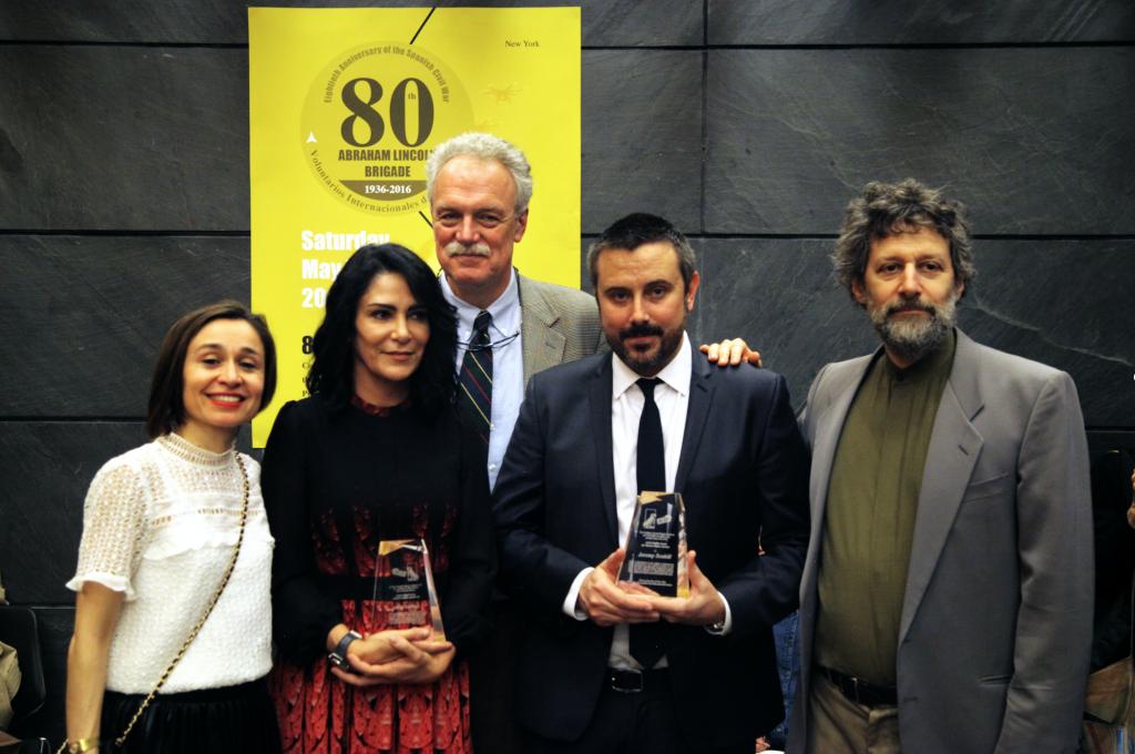 Marina Garde, Lydia Cacho, Fraser Ottanelli, Jeremy Scahill, and Neal Rosenstein