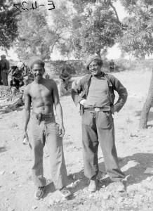 "Figure 6 ""Antonio Garcia, Auto Park, 59th Battalion Miguel Lausurica [sic], Darmos Apr 1938"". Tamiment Library, NYU, 15th IB Photo Collection."