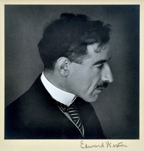 Portrait of Eloesser by Edward Weston.