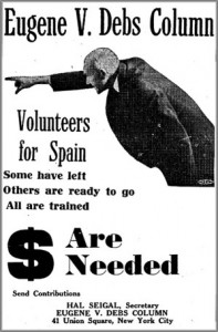 Volunteers for Spain.