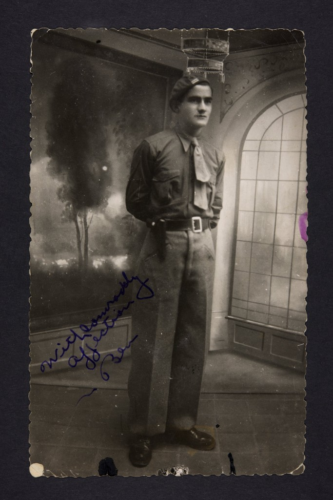 Ben Barsky in Spain, December 1937.