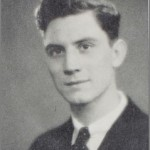 John Field in 1934. U of Rochester Yearbook.